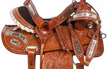 AceRugs 10 12 13 Western Pony Horse Kids Youth Cowboy Cowgirl Pleasure Trail Barrel Racing Saddle TACK Bridle Breast Collar