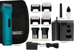 Wahl Professional Animal Arco Pet, Dog, Cat, and Horse Cordless Clipper Kit